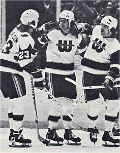 WhalePleau, Jack Carlson, and Gordie Roberts